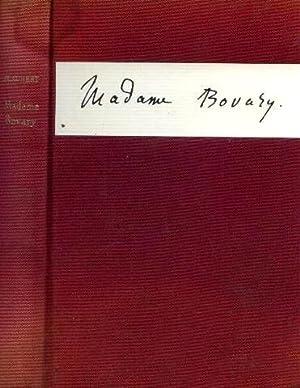 Madame bovary, moeurs de province,: Flaubert Gustave