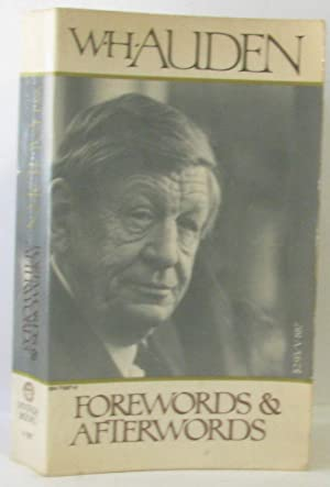 Forewords and afterwords: Auden W. H