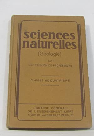 Sciences naturelles (géologie) classes de 4e
