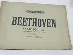 Beethoven symphonies à 4 mains Band I. No.1-5