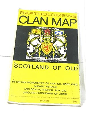 moncreiffe iain - clan map scotland of old - AbeBooks