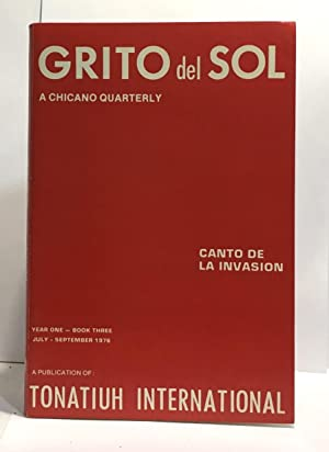 Grito del sol - a chicano quarterly - year one book three, july september 1976