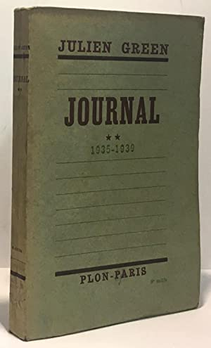 Journal 1935-1939 - tome II