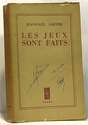Les jeux sont faits: Sartre