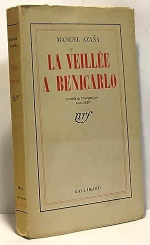 La veillée a Benicarlo: Azana Manuel