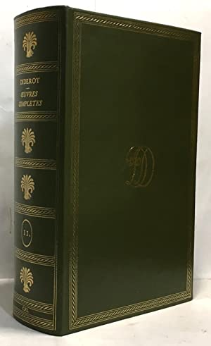 D. Diderot - Oeuvres complètes - édition: Diderot Denis
