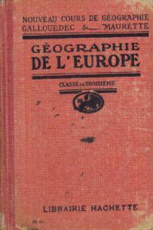 Géographie de l'europe classe de 3e: Gallouédec L. Maurette