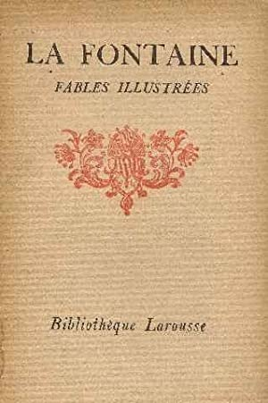 La fontaine. fables illustrees. notices et annotations par maurice morel. 2 volumes