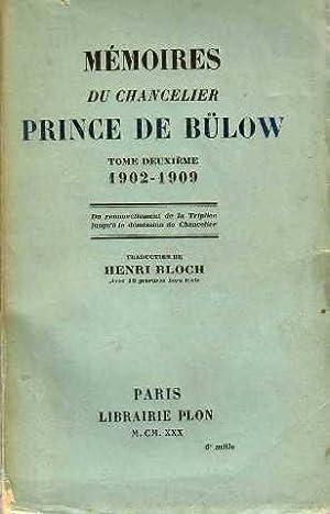 Mémoires du chancelier prince de bulow tome