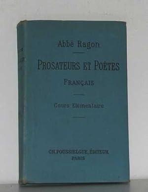 Morceaux choisis de prosateurs et de poètes: E.ragon L'abbé