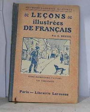 Leçons illustrées de français: Breuil E.