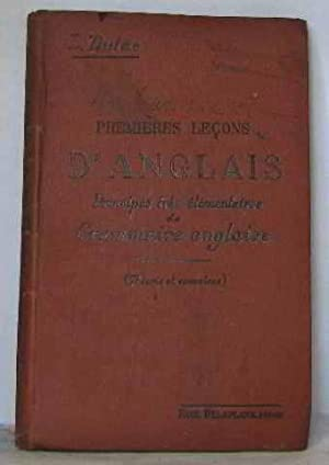 Premières leçons d'anglais principes très élémentaires de: Dulac L.