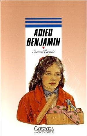 Adieu Benjamin: Chantal Cahour, Anne