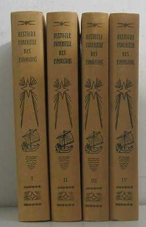 Histoire universelle des explorations (4 vols -: Collectif