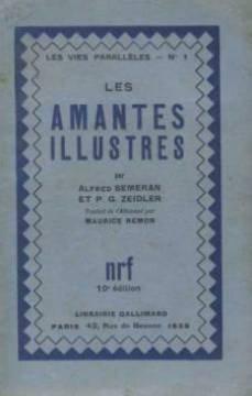 Les amantes illustres: Semeran Alfred, Zeidler