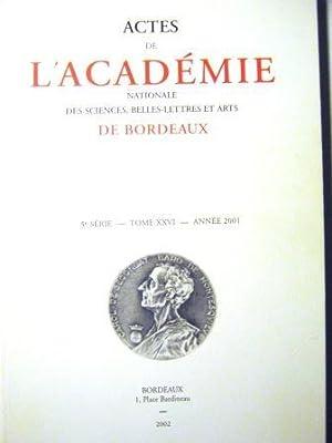 Actes de l'Académie nationale des Sciences, Belles-Lettres: Rhétorique / Cicéron
