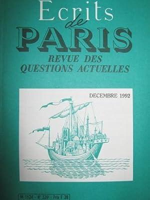 Ecrits de Paris. Revue des questions actuelles.: GATT (accords du)