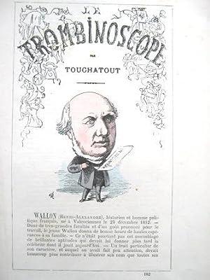 Le Trombinoscope. Journal hebdomadaire. N° 182 : TOUCHATOUT [BIENVENU (Léon-Charles),