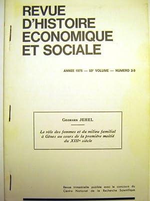 Le Rôle des femmes et du milieu: JEHEL (Georges).