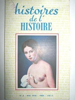 Histoires de l'Histoire (1789-1830). Revue mensuelle. N°: BRAIBANT (Charles) /