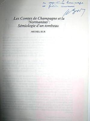 """Les comtes de Champagne et la """"Normanitas"""": BUR (Michel)."""