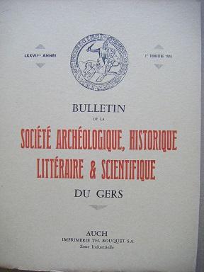 Bulletin de la Société Archéologique, Historique, Littéraire: ARNAUT de MOLES
