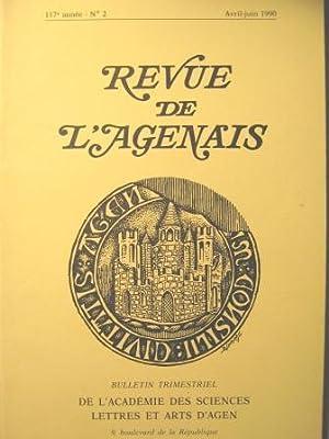 Revue de l'Agenais. Bulletin trimestriel. N° 2: DREPANIUS PACATUS /