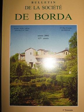 Bulletin de la Société de Borda. (127e: Poteries / Couvent