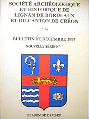 Société Archéologique et Historique de Lignan de: Haux / CAILLARD