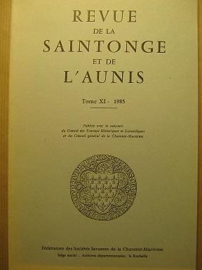 Revue de la Saintonge et de l'Aunis.: Numismatique / Musée