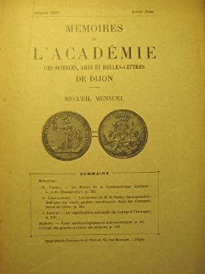 Mémoires de l'Académie des Sciences, Arts et: Numismatique / Gaule