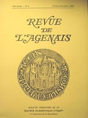Revue de l'Agenais. Bulletin trimestriel de la: SEVIN de BANDEVILLE
