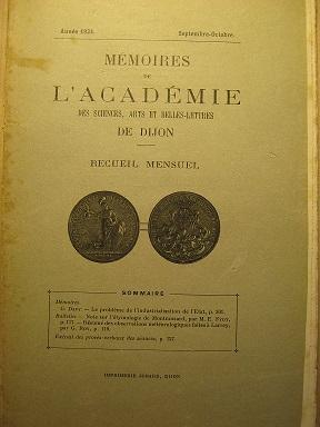 Mémoires de l'Académie des Sciences, Arts et: Industrialisation / Etat