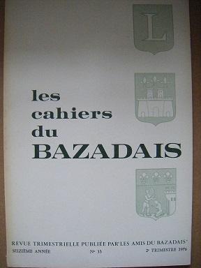 Les Cahiers du Bazadais. Revue trimestrielle. N°: Préchac / Eglise