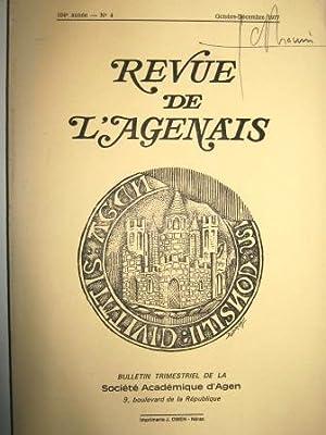 Revue de l'Agenais. Bulletin trimestriel de la: Charte / Moyen