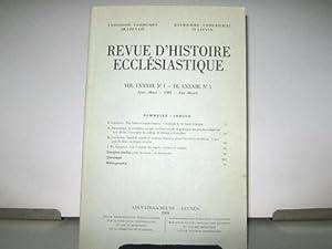 Revue d'Histoire Ecclésiastique. (Volume LXXXIII, n° 1).: Missions / Gaule