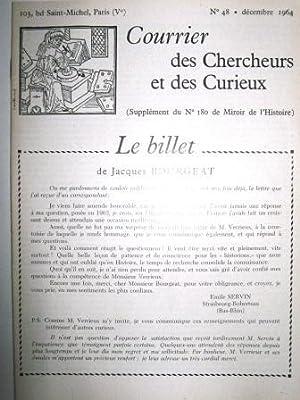 Courrier des Chercheurs et des Curieux. (Supplément: Montségur (château de)
