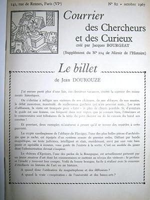 Courrier des Chercheurs et des Curieux, créé: Drapeau tricolore /