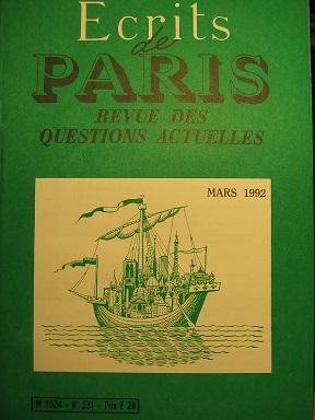 Ecrits de Paris. Revue des questions actuelles.: C.E.I. / Russie