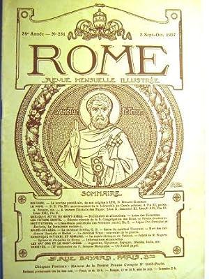 Rome. Revue mensuelle illustrée. (34e année, n°: Marine pontificale /