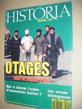 Historia. Revue mensuelle. N° 529.: Otages (prises d')