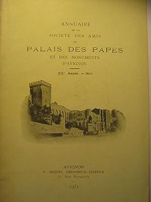 Annuaire de la Société des Amis du: Avignon / NAUDEAU