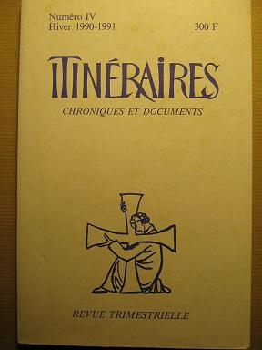 Itinéraires. Chroniques et Documents. Revue trimestrielle. N°: MADIRAN (Jean) /