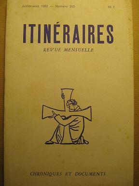 Itinéraires. Chroniques et Documents. Revue mensuelle. N°: Socialisme / SALLERON