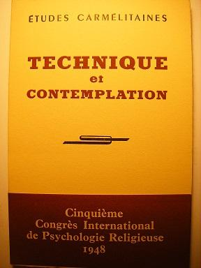 ETUDES CARMELITAINES (28e ANNEE) : TECHNIQUE ET: LACOMBE (Olivier) /