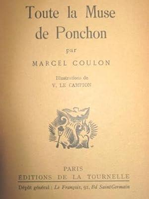 Toute la Muse de Ponchon.: COULON (Marcel).