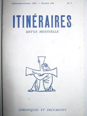 Itinéraires. Chroniques et Documents. Revue mensuelle. N°256.: Madiran (Jean) /