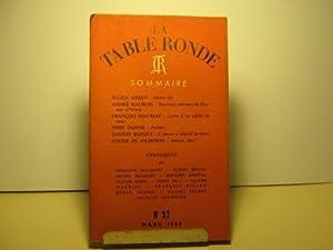 La Table Ronde. Revue mensuelle. N° 27.: Green (Julien) /
