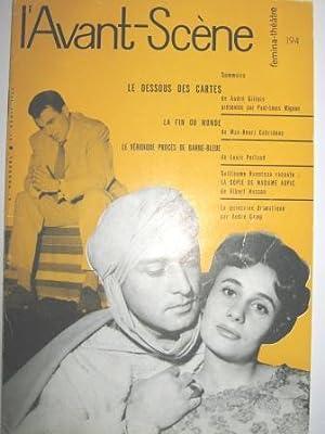 Le Dessous des Cartes. Pièce en 4: GILLOIS (André).