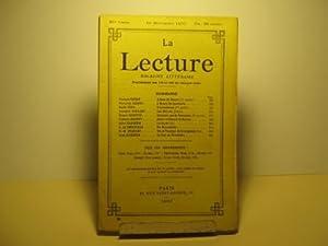 La Lecture. Magazine littéraire paraissant le 10: Ohnet (Georges) /